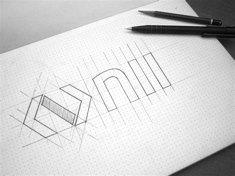 sketchbook logo logo nii sketch by fancy design dribbble