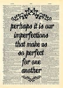 Jane Austen Quotes Love by Jane Austen Emma Quote Perhaps It Is Our Imperfections
