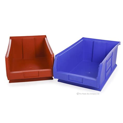 plastic containers for storage buy small parts semi open fronted heavy duty containers in