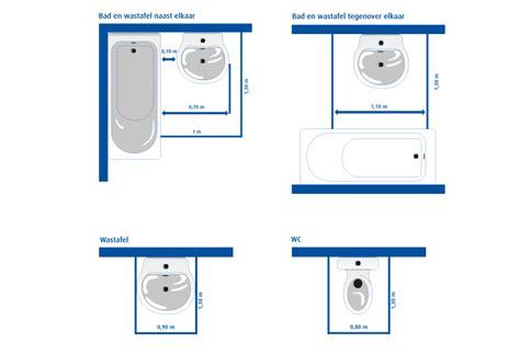 Afmetingen Ophang Wc by Sanitaire Aansluitingen Brico