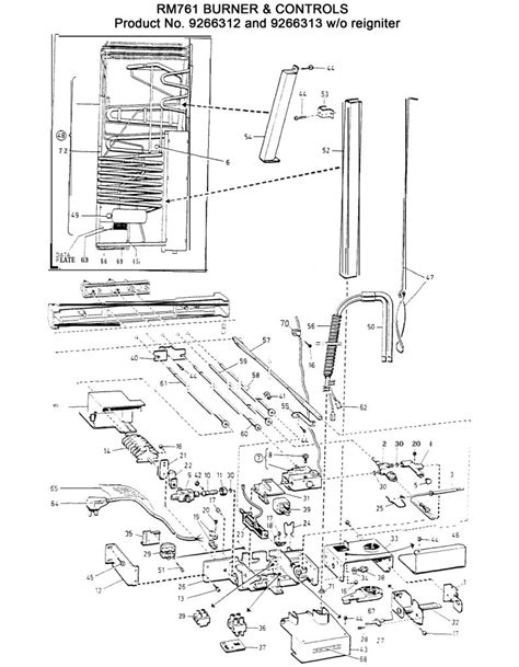 dometic refrigerator parts diagram laurelhurst distributors parts breakdown dometic