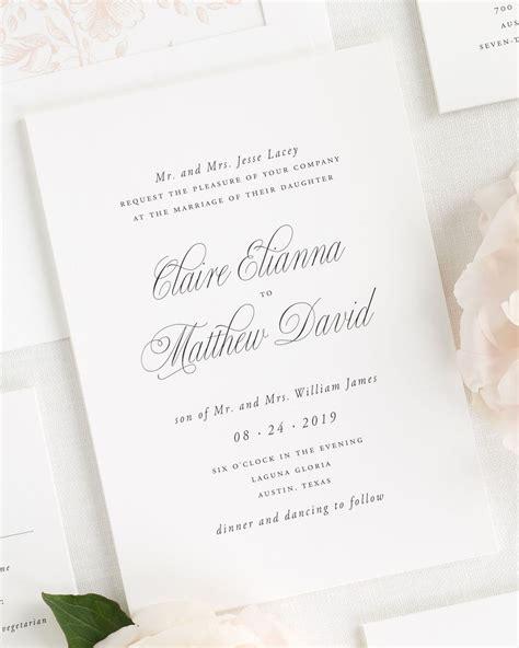 wedding invitations st catharines ontario garden elegance wedding invitations wedding invitations by shine