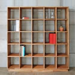 Picture Of Bookshelves Mash Studios Lax 5x5 Bookshelf Modern Bookcases