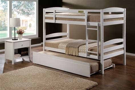 White Bunk Beds Australia Cosmos White King Single Bunk Beds Single Trundle Bed