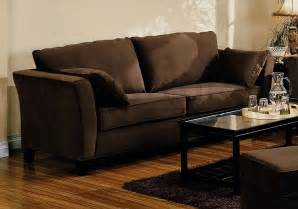 brown sofa living room simple brown sofa home designs project