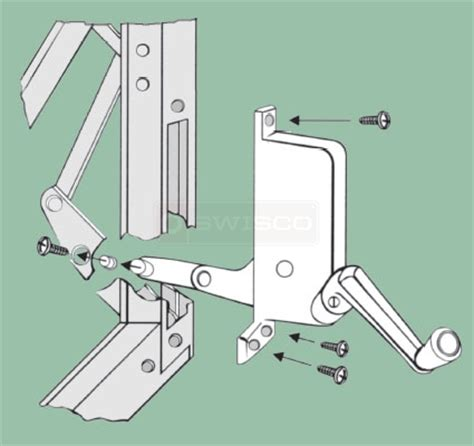 awning window crank how do i install my replacement crank operator swisco com