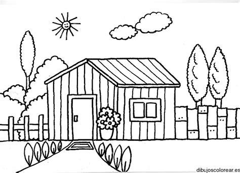 pueblo de casitas mandalas infantiles para colorear para dibujo de una casa de madera