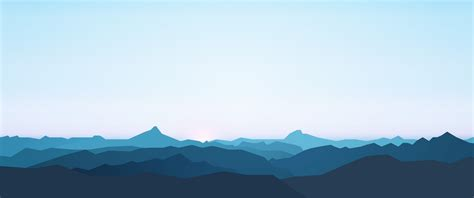 minimalist mountains overview for anydobii