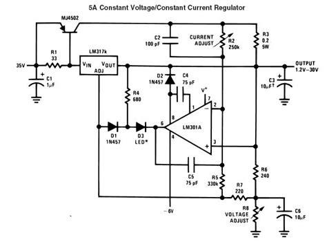 alimentatore stabilizzato lm317 lm317 5a elektroda pl