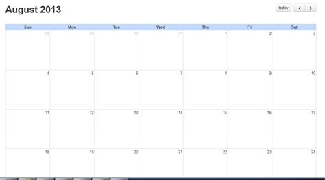 calendar layout stack overflow jquery modify fullcalendar javascript plugin layout