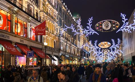 oxford street starts london s christmas festivities