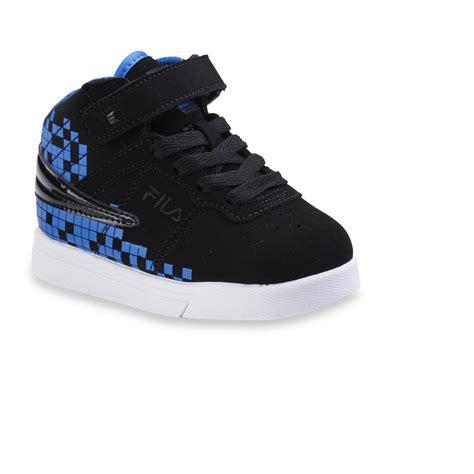 toddler boy high top sneakers fila toddler boy s vulc 13 digital black blue high top