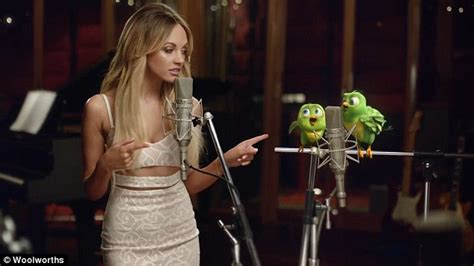acura commercial actress singing samantha jade ridiculed for cringeworthy woolworths