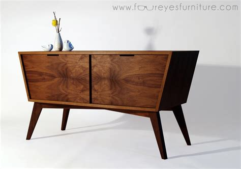 Handmade Dining Room Table designing amp building a mid century inspired console