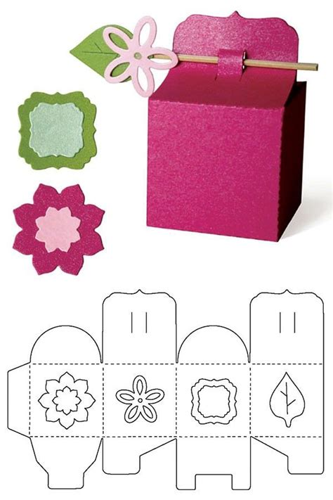 25 best ideas about gift box templates on pinterest