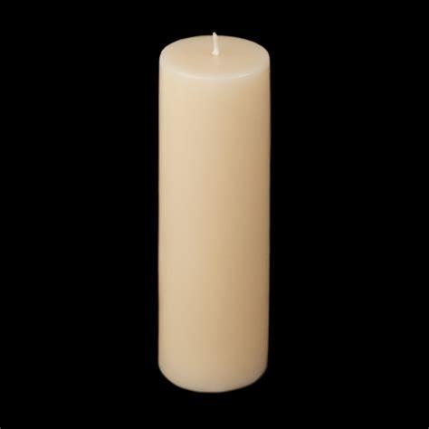 gold and cream pillar candles 2x6 pillar candle