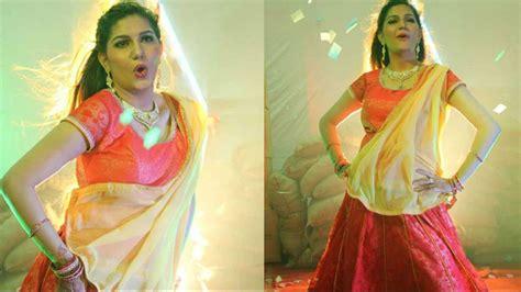 sapna choudhary film song ex bigg boss 11 contestant sapna choudhary s sizzling