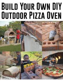 Build Wood Fired Pizza Oven Your Backyard Build Your Own Outdoor Diy Pizza Oven
