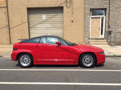 there s a 1990 alfa romeo sz for sale in new york