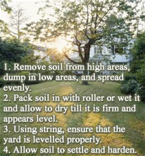 how to level a backyard best 25 leveling yard ideas on pinterest lawn repair