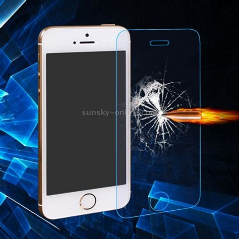 Tempered Glass Ip5s sunsky 0 3mm 2 5d anti blue explosion proof