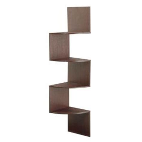 4d concepts hanging wall corner shelf storage 99600 the