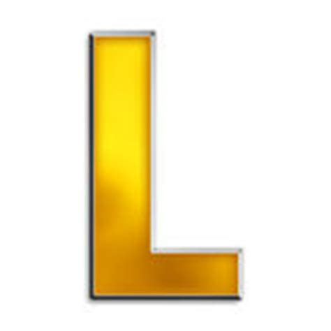 Gold L by Isolated Letter U In Shiny Gold Stock Photos Image 5021673