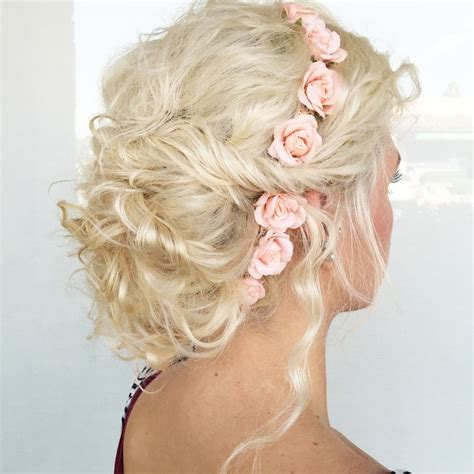 current upstyles 20 soft and sweet wedding hairstyles for curly hair 2018