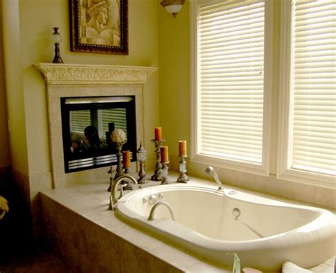 fireplace in bathroom bathroom with fireplace for the home pinterest
