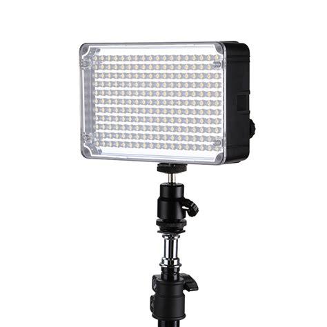 Led Flash Kamera aputure lu led flash kamera universal 198 led cri 95