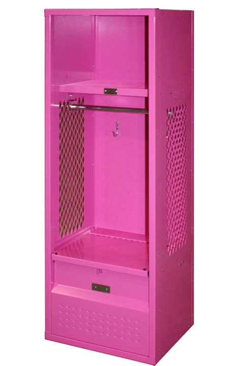 lockers for bedroom kid bedroom delectable picture of single pink metal girl