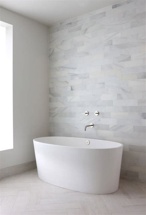 Pictures For Bathroom Wall by 29 White Bathroom Tiles Ideas And Pictures