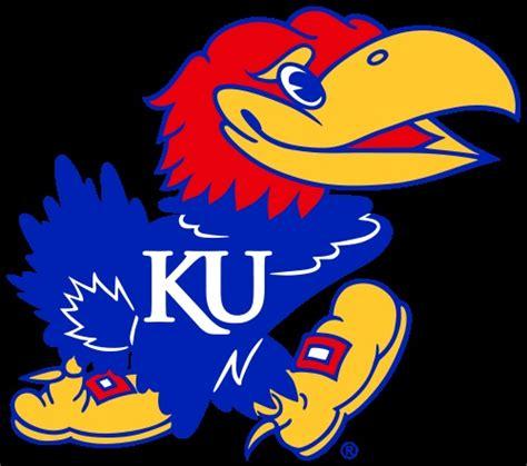 fb ku kansas jayhawks football team logo sports pinterest