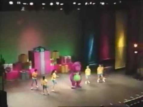 barney backyard gang concert mr knickerbocker barney in concert soundtrack youtube
