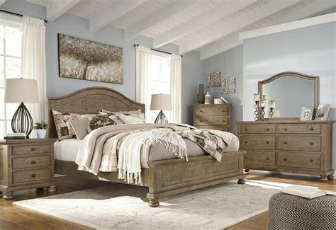 bedrooms furniture sets trishley light brown panel bedroom set from coleman furniture