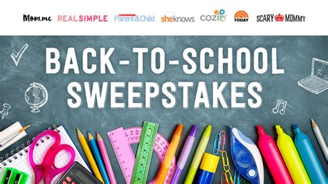 She Knows Sweepstakes - win a 4 000 back to school prize package on sheknows back to school sweepstakes