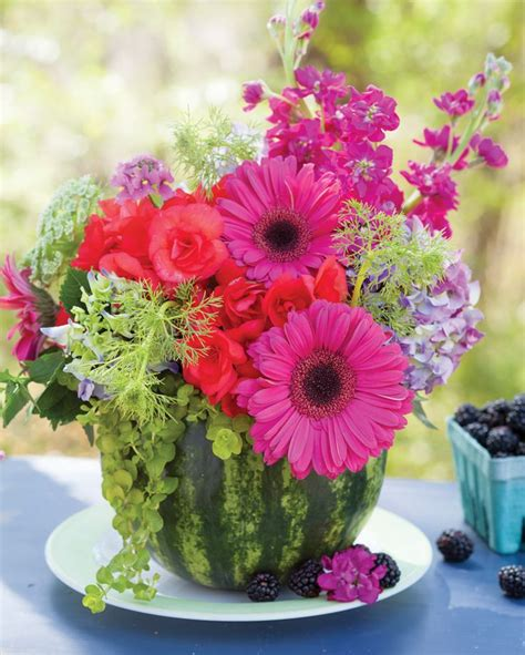 flower vases centerpieces best 25 watermelon centerpiece ideas on
