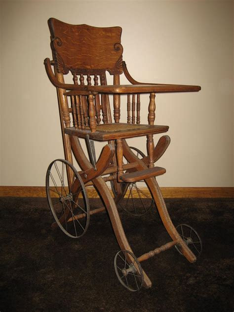 Antique Stroller High Chair by Antique High Chair Stroller Antique Furniture