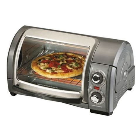 Find Toaster Ovens Review Of Hamilton 31334 4 Slice Easy Reach Toaster Oven