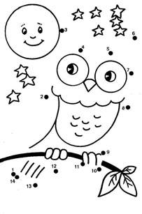 fall dot to dot coloring home - Dot To Dot Coloring Pages