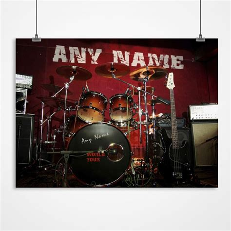 make your own calendar for 99p personalised drum kit print personalised pictures from