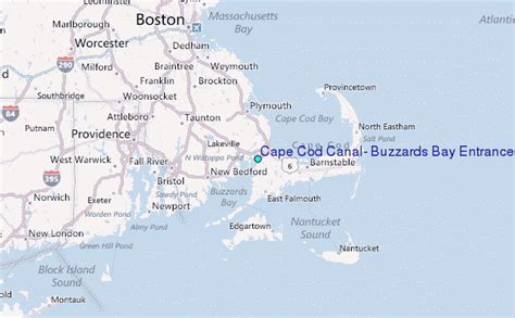where is cape cod located on a map cape cod canal buzzards bay entrance massachusetts tide