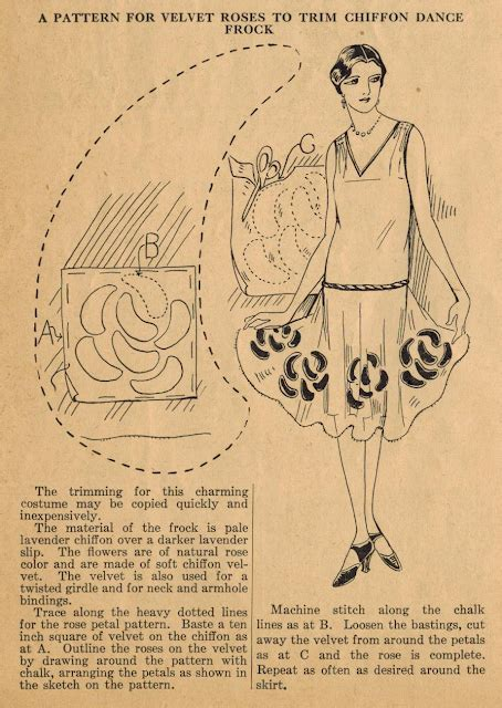 vintage pattern tips the midvale cottage post home sewing tips from the 1920s