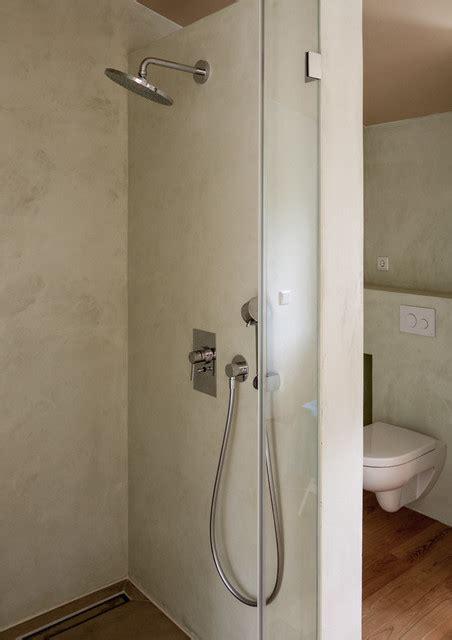 badezimmer nasszelle kalkputz in der nasszelle modern badezimmer hamburg