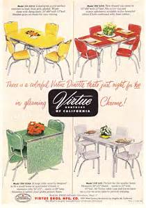 Formica Table And Chairs C Dianne Zweig Kitsch N Stuff Virtue Brothers Of