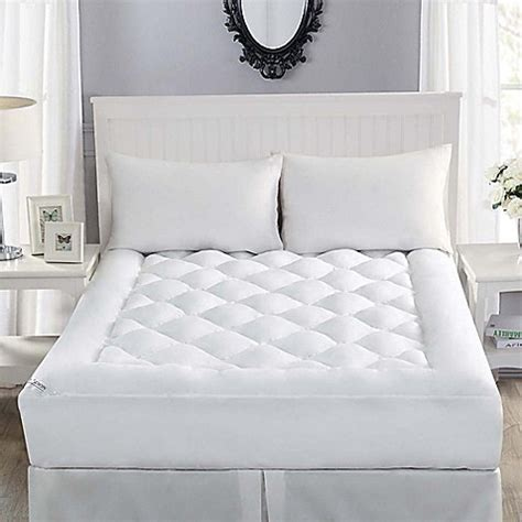 allergy bedding buy robin wilson home allergy free full mattress topper in white from bed bath beyond