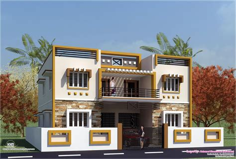 building type house design eco friendly houses box type tamilnadu house design