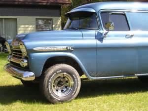3g59f123360 1959 chevy apache panel truck