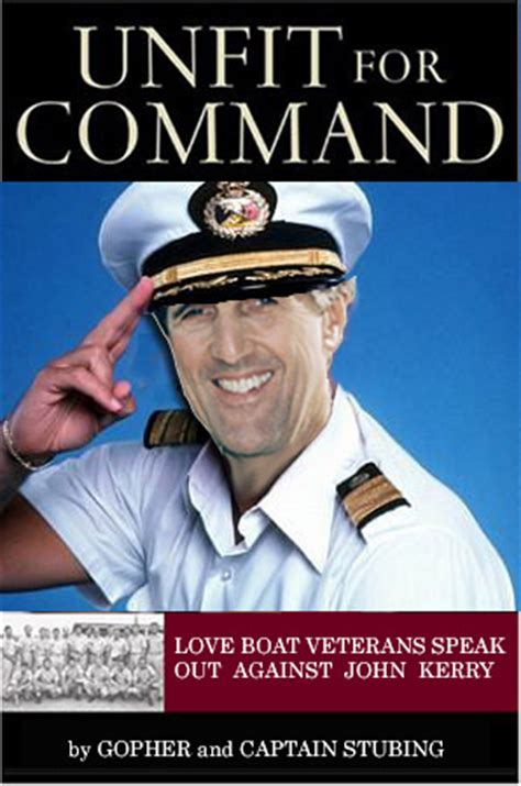 did gopher from love boat died humor is dead love boat veterans attack kerry s love record