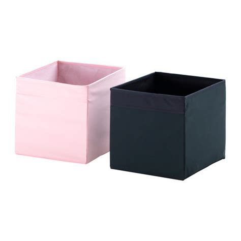 ikea drona expedit bookcase storage box pink ebay